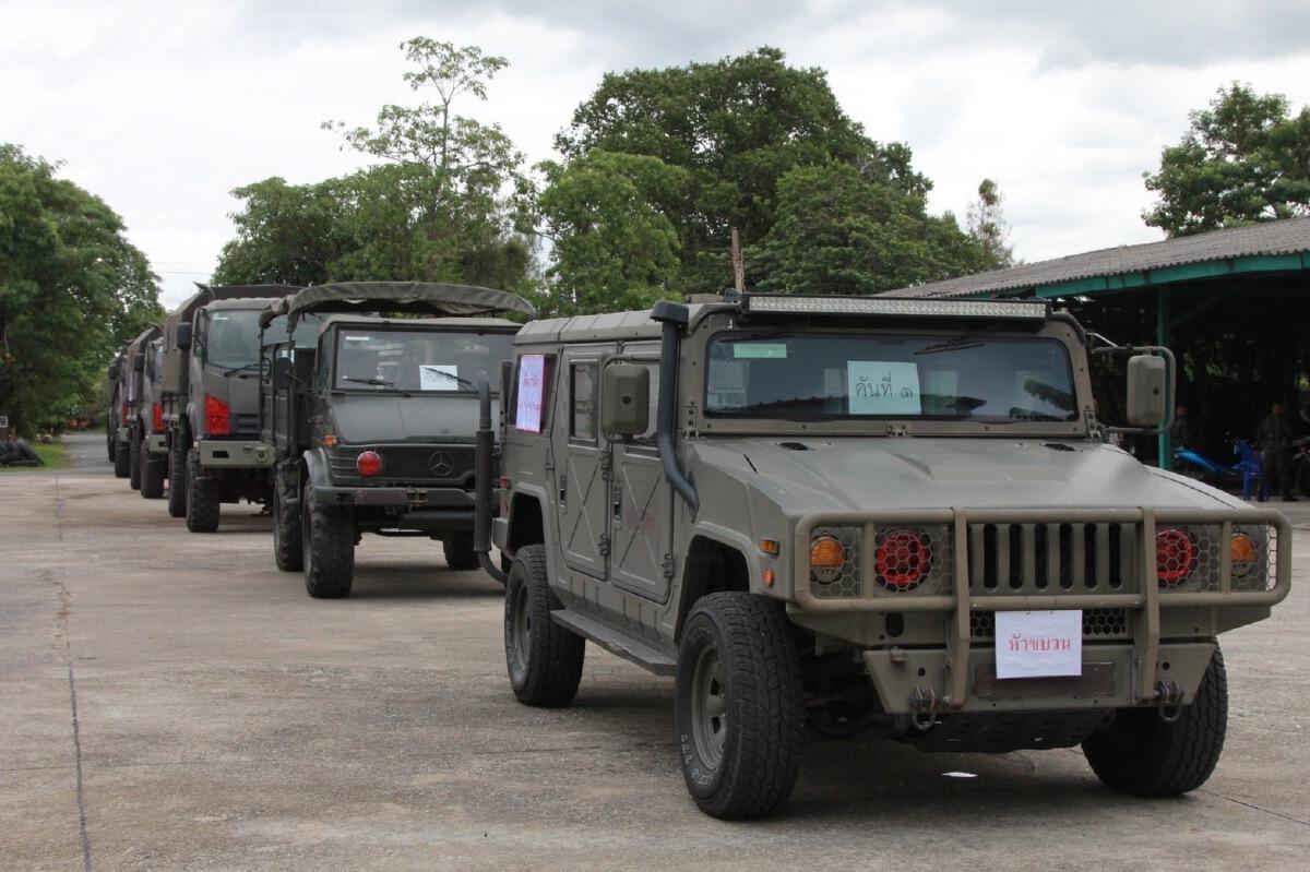กองทัพบก แจ้งเคลื่อนย้ายกำลังพล-อาวุธยุทโธปกรณ์