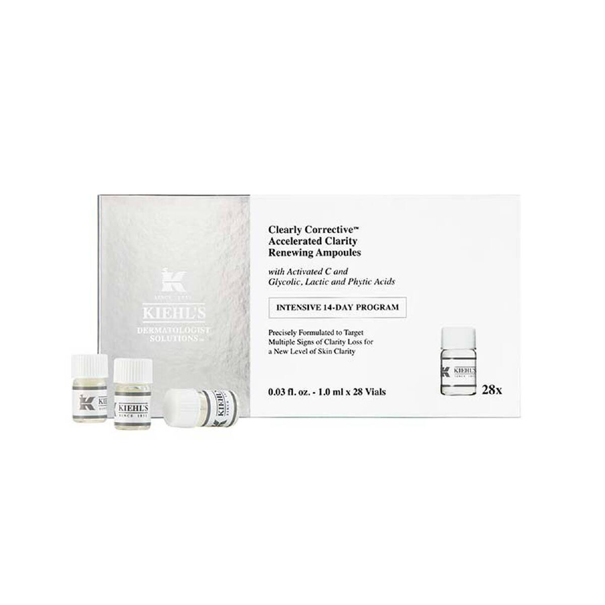 Kiehl's Clearly Corrective Accelerated Clarity Renewing Ampoules