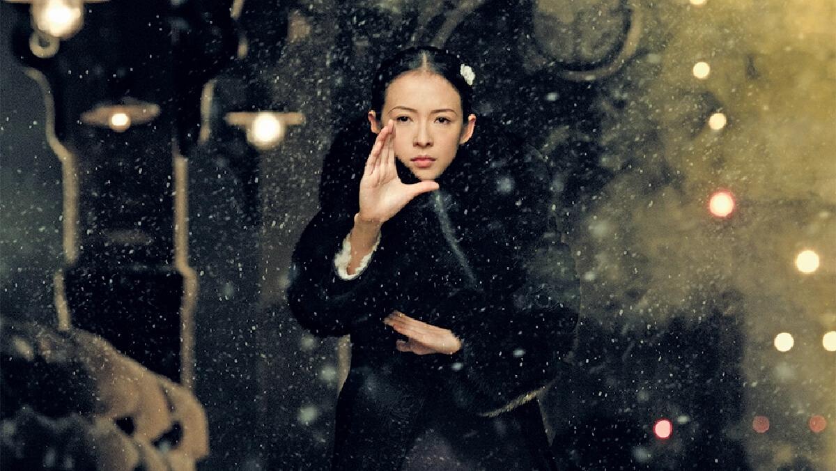 จาง ซิยี่ ในภาพยนตร์ The Grandmaster