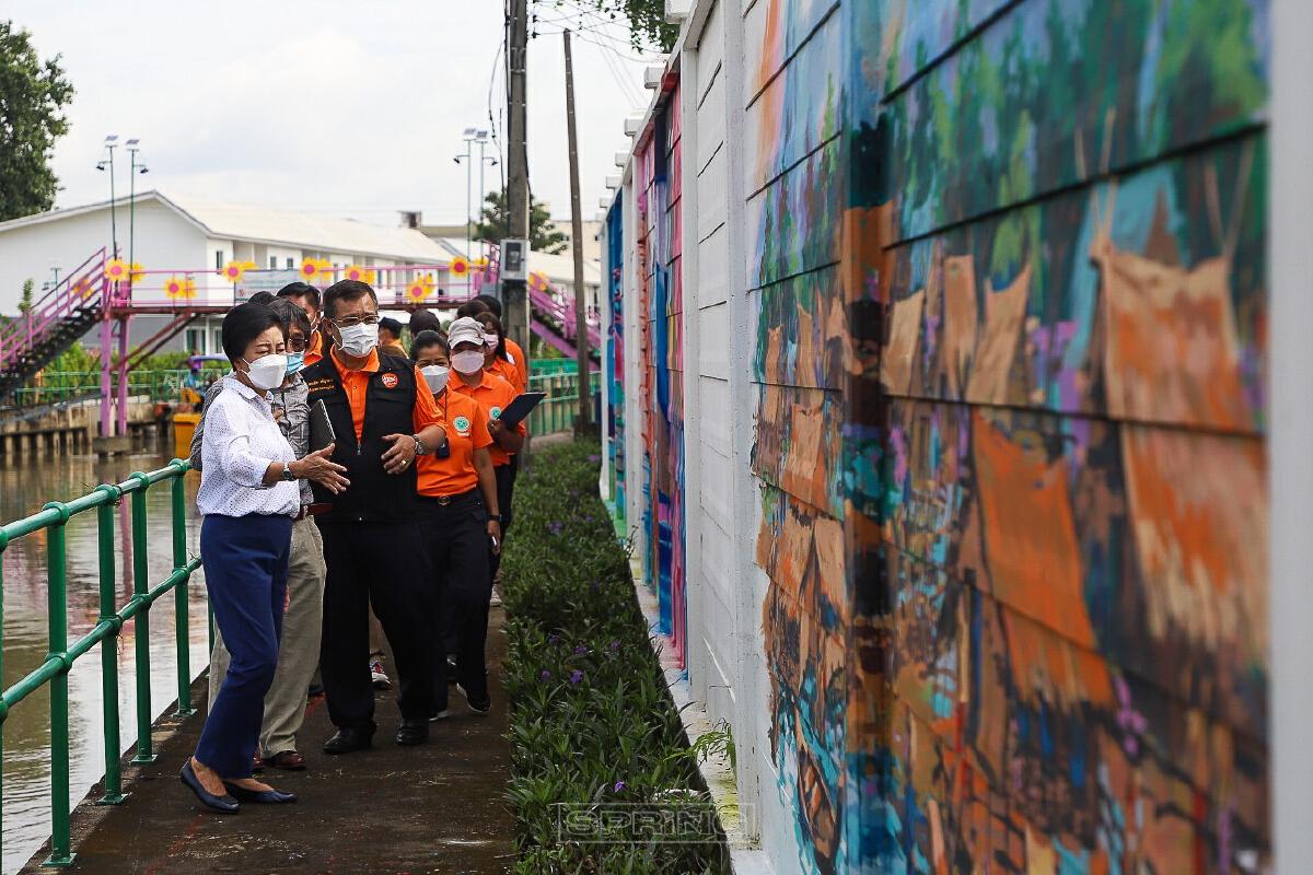 ศิลปสวย เยี่ยมชม Street Art คลองเปรมประชากร