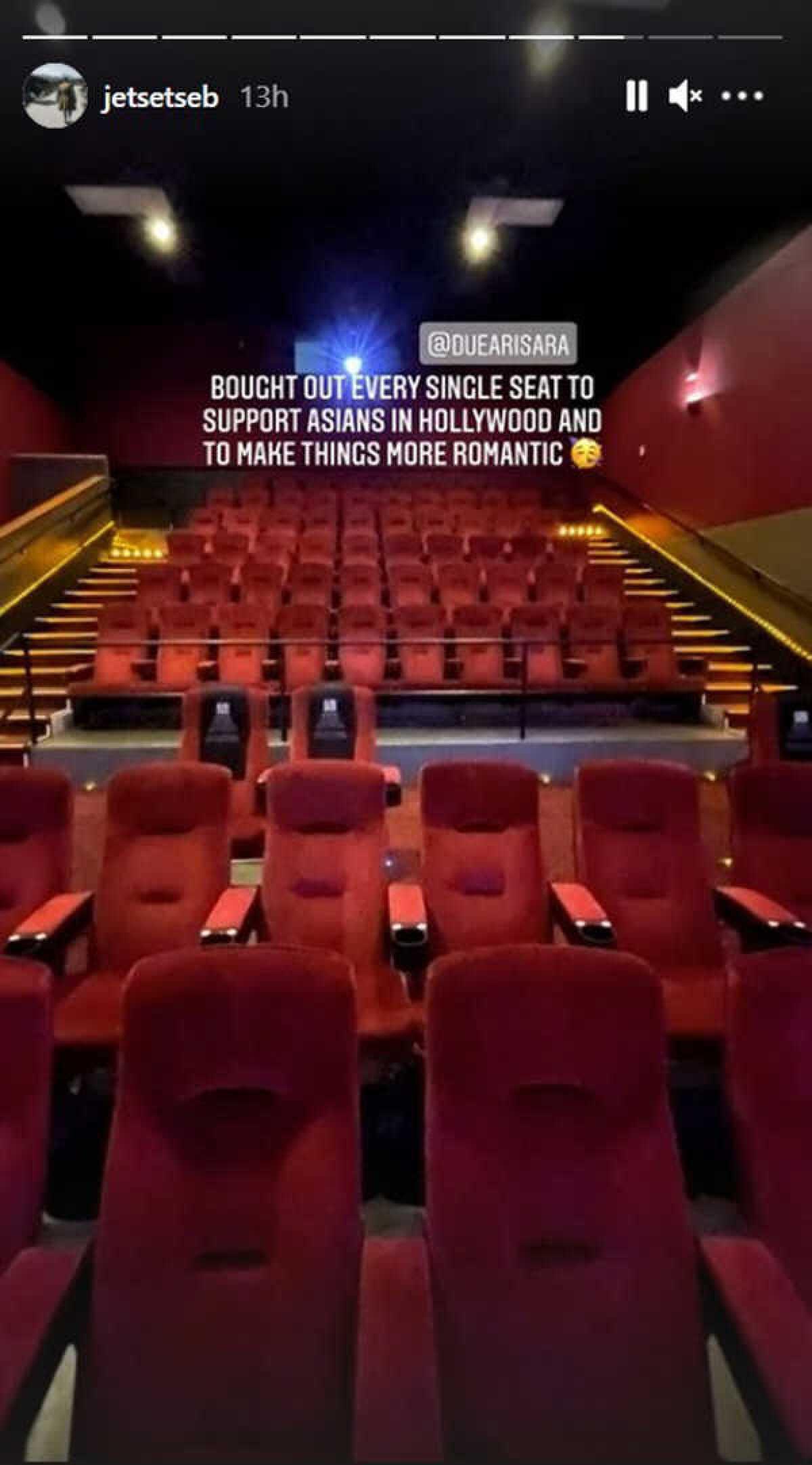 ดิว อริสรา ยิ้มแก้มปริ! หลัง เซบาสเตียน ลี ปิดโรงหนังที่อเมริกา สวีทแค่สองเรา