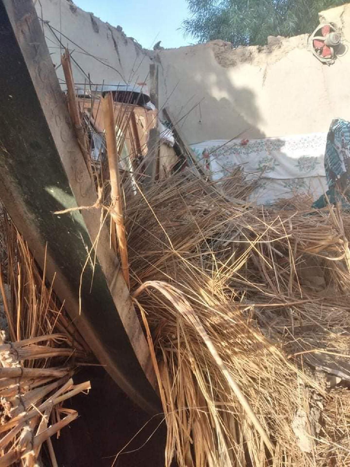 เศษซากแผ่นดินไหวปากีสถาน ขนาด 5.9 แมกนิจูด