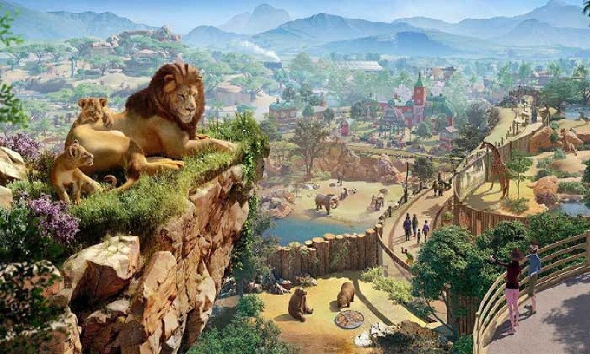 รูปประกอบปกเกม Planet Zoo