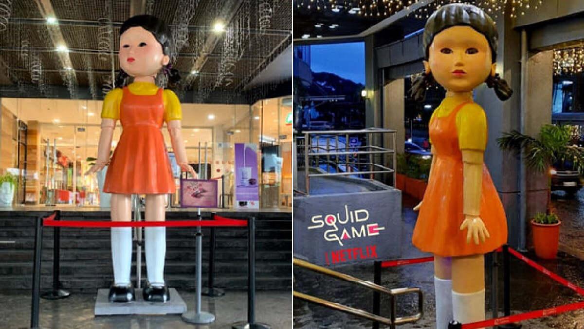 หุ่นตุ๊กตาเด็กผู้หญิง ซีรี่ส์ Squid Game ที่ฟิลิปปินส์