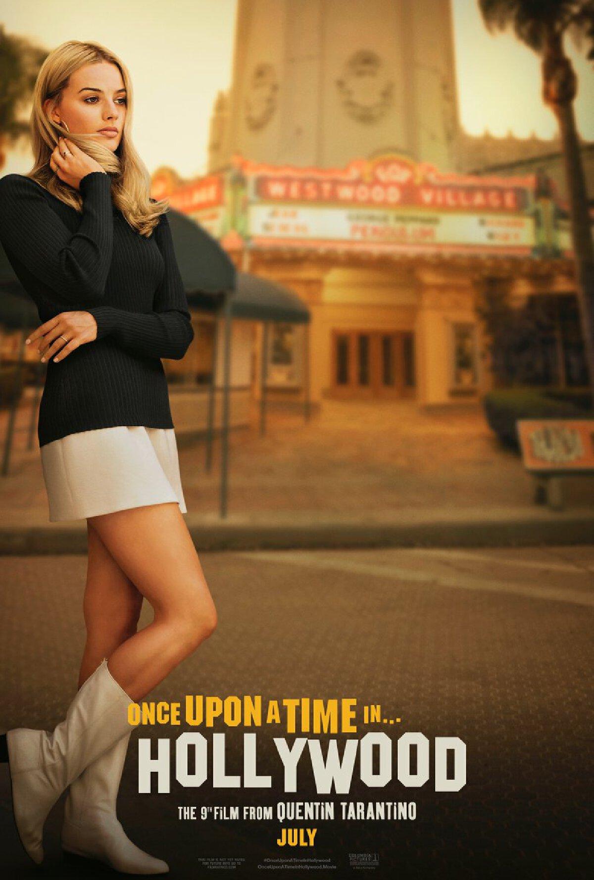 มาร์โกต์ ร็อบบี้ Margot Robbie ร่วมงานกับ แควนติน ทาแรนติโน่ ในภาพยนตร์ Once Upon a Time in Hollywood