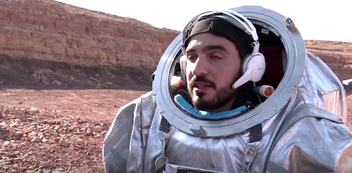 สราเอล - ออสเตรีย ส่งนักบินอวกาศ ทดลองจำลองใช้ชีวิตเสมือนอยู่บนดาวอังคาร