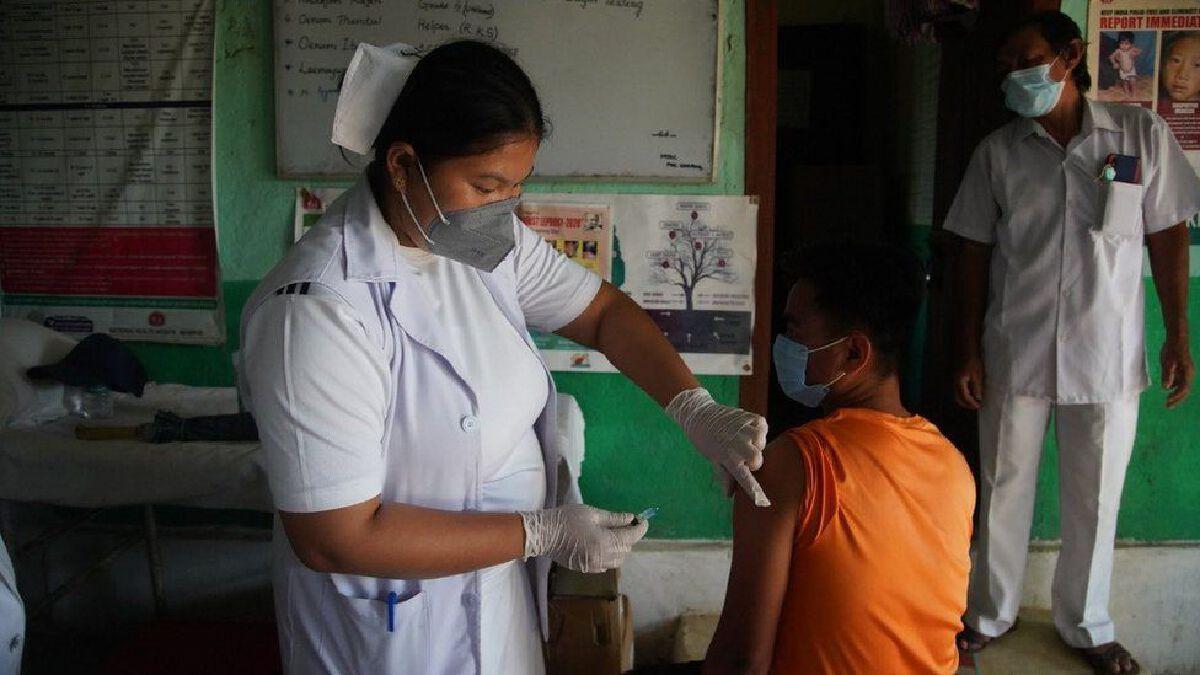 ฉีดวัคซีนโควิด19 ในพื้นที่ห่างไกลของอินเดีย