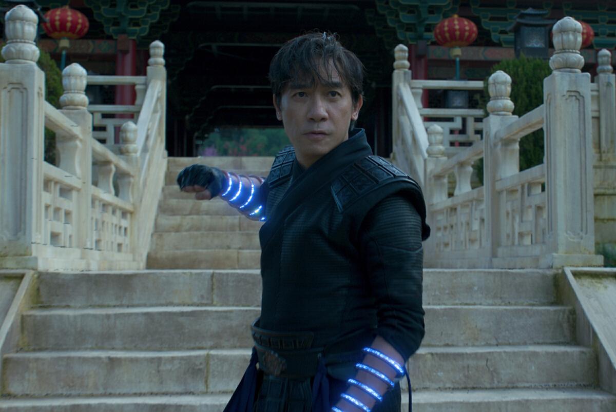 เหลียงเฉาเหว่ย ในหนัง Shang-Chi and the Legend of the Ten Rings หรือ ชาง-ชี กับตำนานลับเท็นริงส์