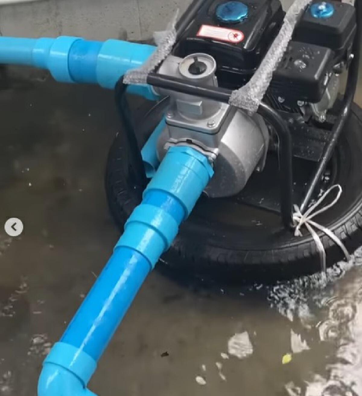 ปู แบล็คเฮด โพสต์ภาพน้ำท่วมบ้าน ตัดพ้อเบาๆ ไหนบอกบึงกุ่มมีฝน30%