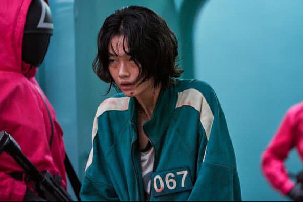 จองโฮยอน แซบยอก หมายเลข 067 ซีรีส์ Squid Game
