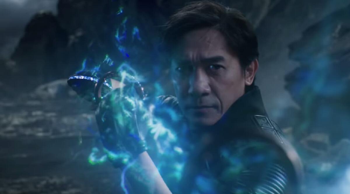 เหลียงเฉาเหว่ย  Tony Leung ภาพยนตร์ Shang-Chi and the Legend of the Ten Rings หรือ ชาง-ชี กับตำนานลับเท็นริงส์