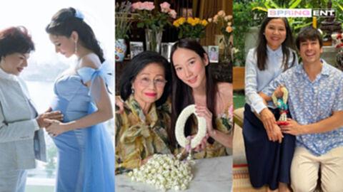 ประมวลภาพสุดอบอุ่น คนบันเทิง ส่งมอบความรักวันแม่แห่งชาติ 2654