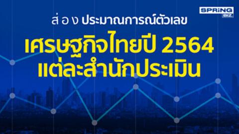 ส่องประมาณกาณ์ตัวเลข เศรษฐกิจไทยปี2564 ที่มีผลต่อ 'ธุรกิจ ปากท้องผู้คน'