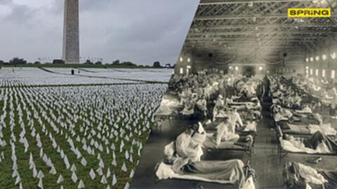 โควิด-19 คร่าชีวิตคนสหรัฐ มากกว่า ยุค ไข้หวัดใหญ่สเปน เมื่อ 103 ปีก่อนแล้ว