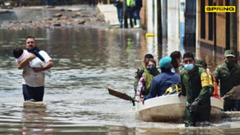 เม็กซิโก เคราะห์ซ้ำกรรมซัด น้ำท่วมฉับพลัน คร่า 17 ชีวิต