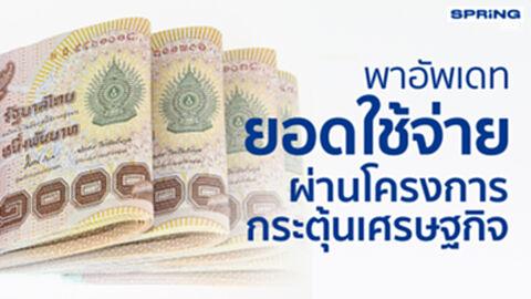พาอัพเดท ! ยอดใช้จ่ายโครงการกระตุ้นเศรษฐกิจ คนละครึ่งเฟส3 - บัตรคนจนสูงสุด
