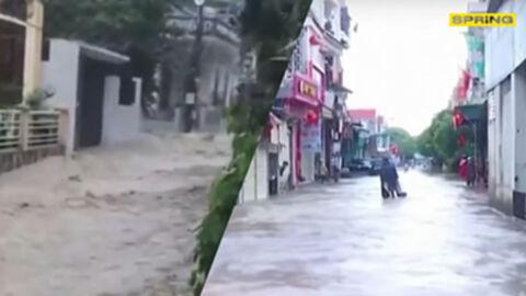 น้ำท่วมเวียดนาม พิษพายุโซนร้อนเตี้ยนหมู่ ซัดตอนกลางของประเทศ เสียหายหนัก